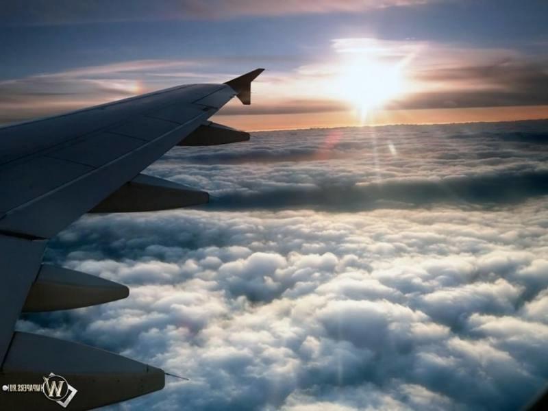 Вид из Самолёта..