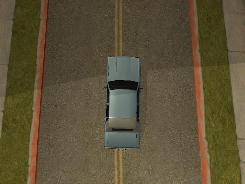 Вид сверху - Grand Theft Auto: SA