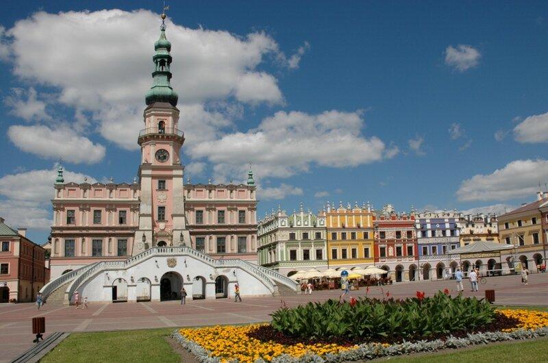 Замосць, Польша, достопримечательности города, фото на сайте LetsTravels
