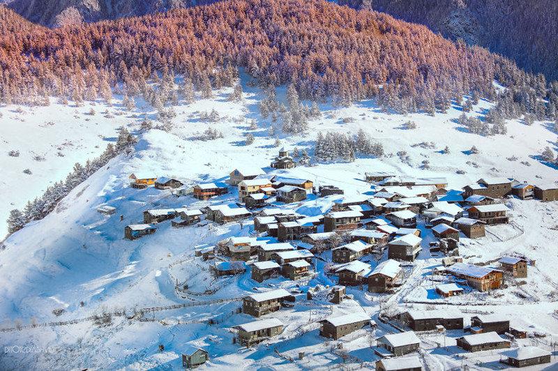 Живописные пейзажи Грузии с высоты птичьего полета - 9 Января 2016 - Наша планета.Новости экологии