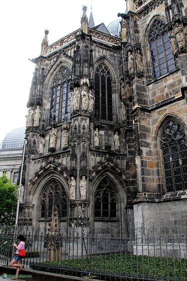 ахенский собор архитектура