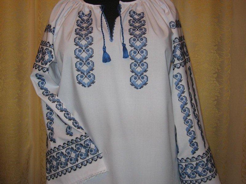 Фото украшенная вышивкой