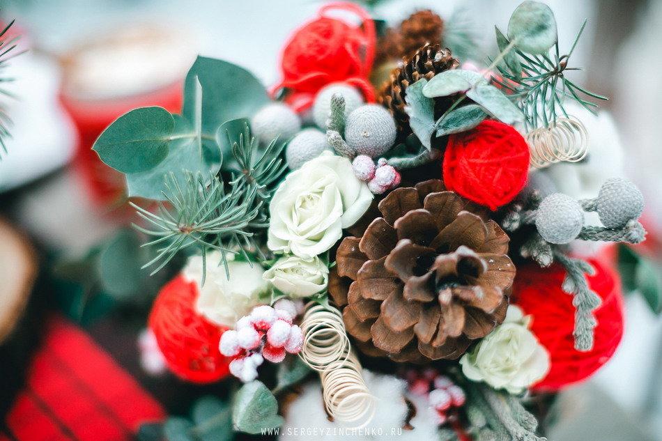 Зимний букет цветов на день рождения, букетов фруктов доставка