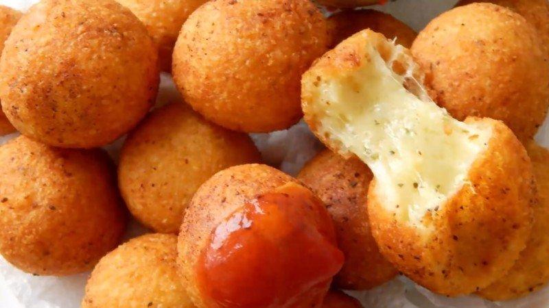 Сырные шарики с соусом рецепт с фото