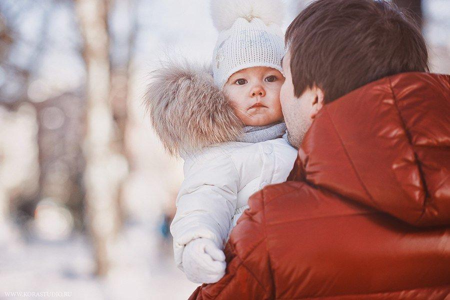 Красивые фото мама и ребенок зимой