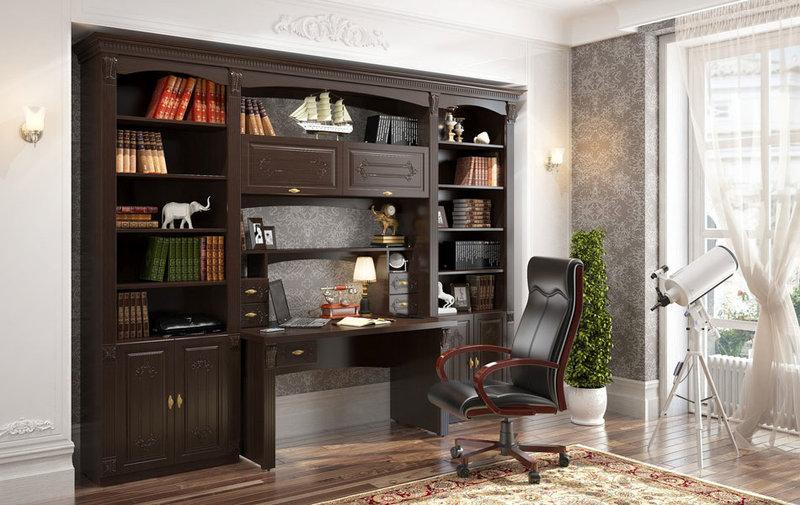 Домашний кабинет не только для работы