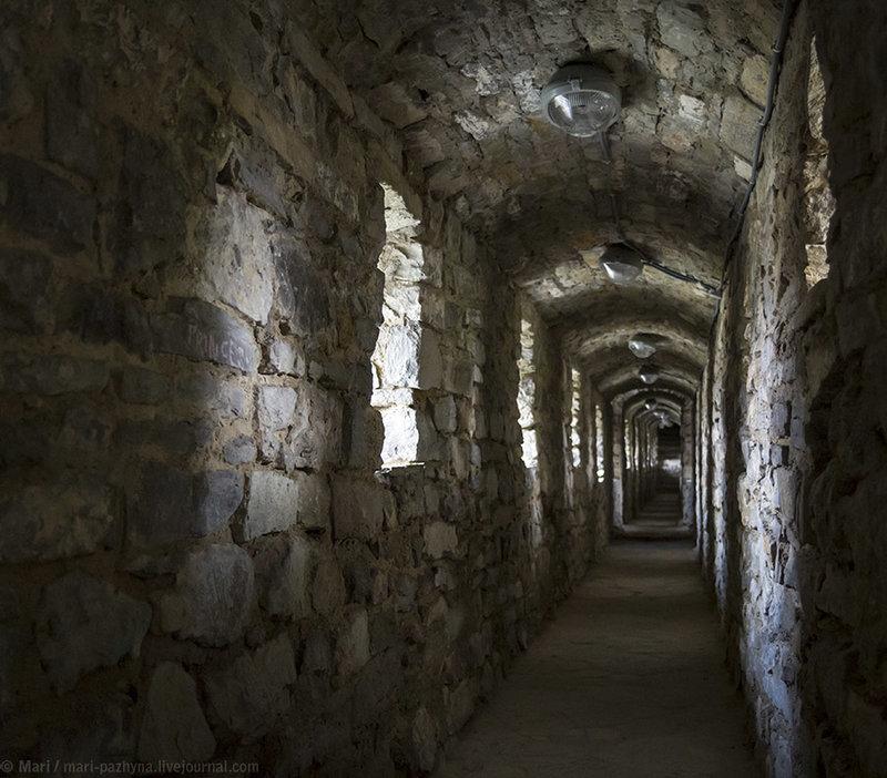 Замок Каменец - Подольский, коридор