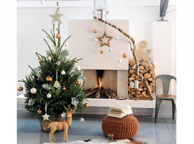 1-Красивые-украшенные-елки:-фото