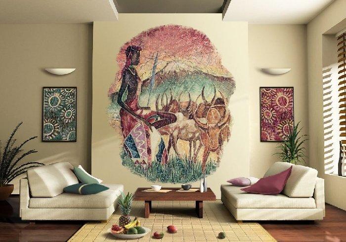 Африканский стиль в интерьере (20 фото) | Inohouse.com