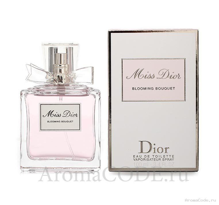 Christian Dior Miss Dior Blooming Bouquet. Цена от 3 900 руб.. Отзывы, фото и описание. Купить в Аромакод.ру