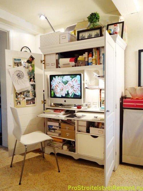 Интерьер комнаты для студента фото