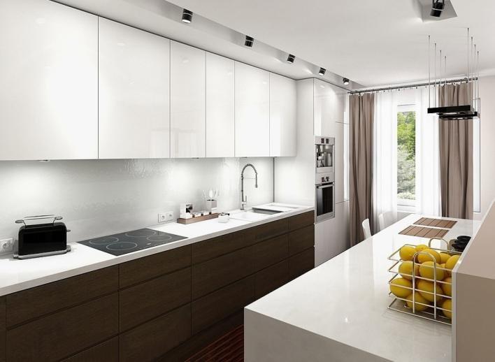 Интерьер современной кухни в стиле минимализм: фото с примерами