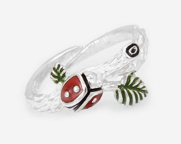 Кольца с эмалью из серебра купить на Сильвер Дисконт