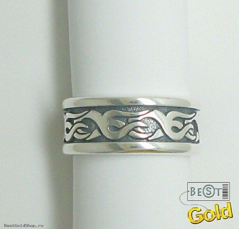 кольца серебряные без камней - Серебряное кольцо [31-190240], art. 10302 :: Ювелирный магазин - www.BestGoldShop.ru
