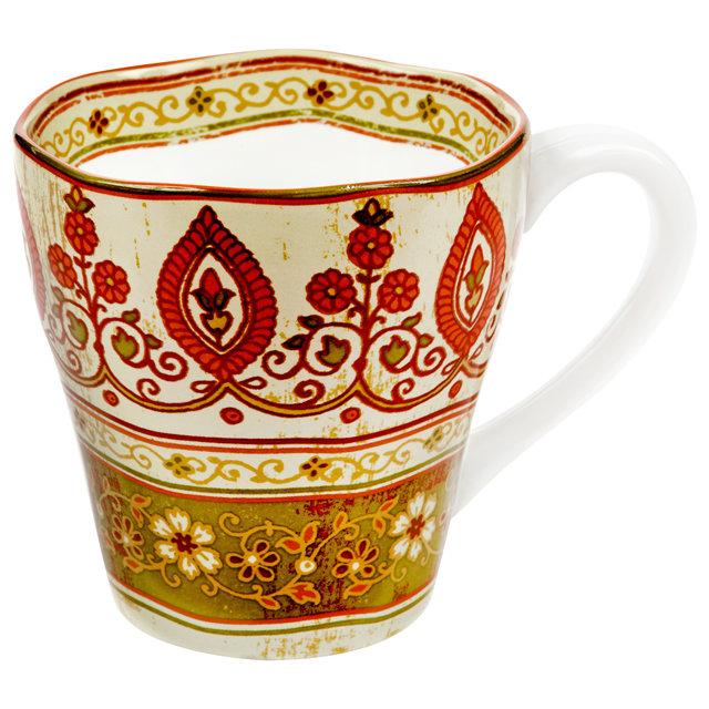 Кружка Utana Кашмир UTG41601 керамическая 450мл оливковая