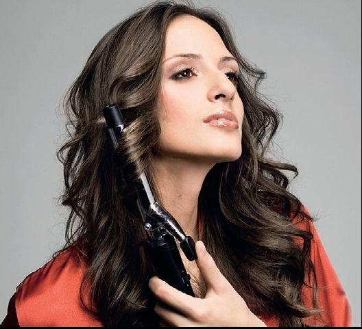 Локоны на средние волосы (фото)