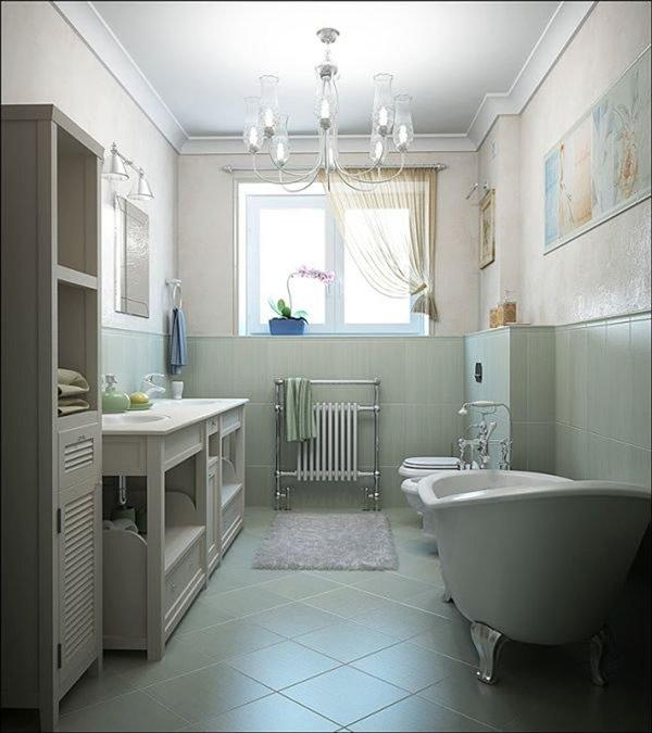 Малогабаритные ванные комнаты (126)