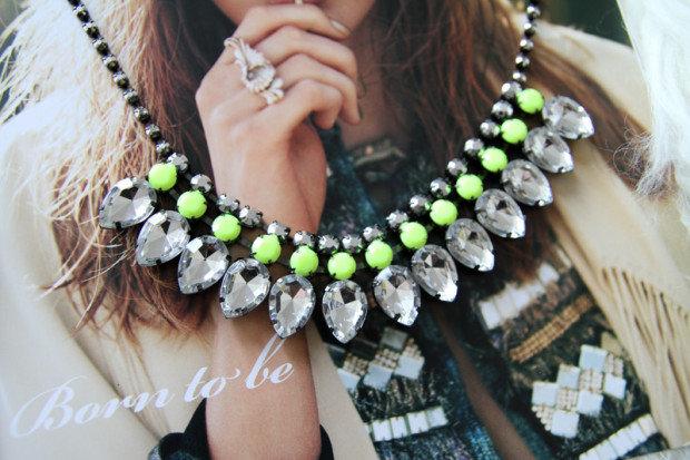 Модные колье и ожерелья 2014
