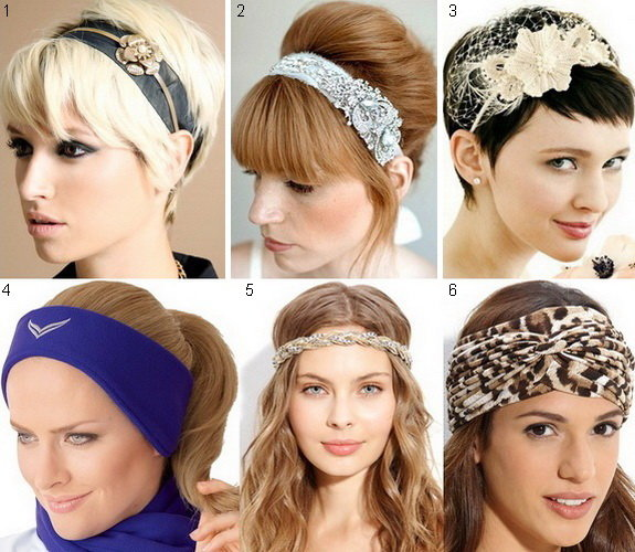 Ободки и повязки для волос