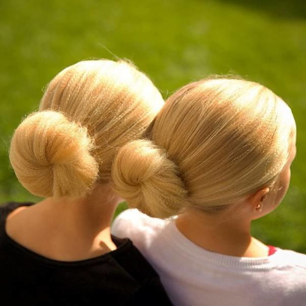 Причёски девочек из гофрированных волос