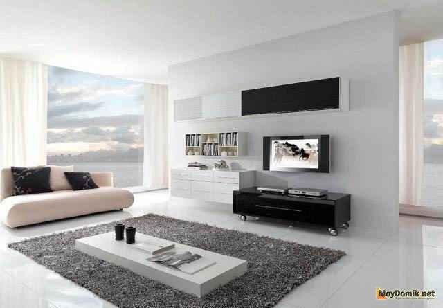 Стиль минимализм в интерьере - минималистичный дизайн + 50 фото