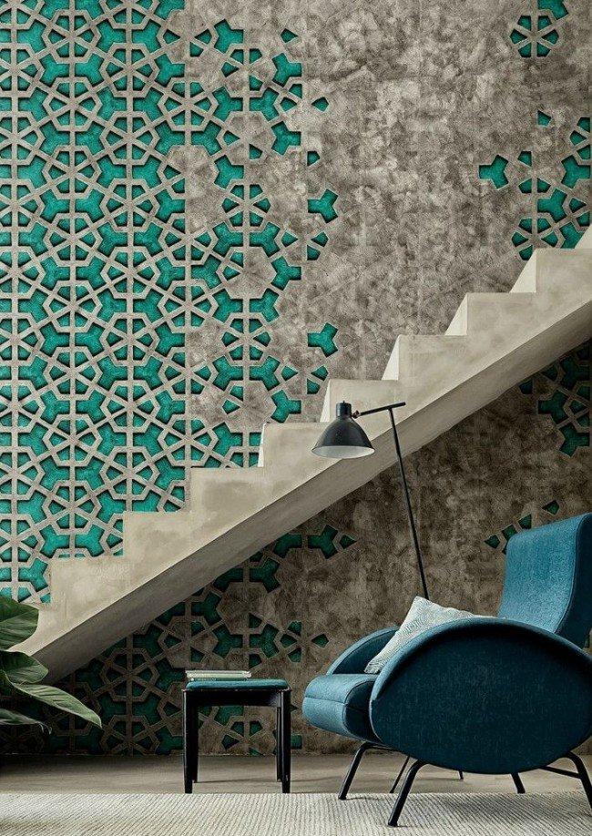 """""""Сырой"""" вид бетонных лестниц в урбанистичных интерьерах - на пике моды"""