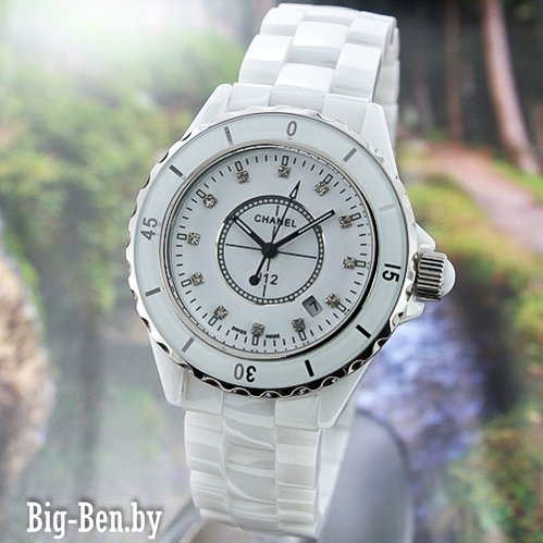 Точные копии часов CHANEL J12  0445, Наручные часы CHANEL  женские, купить копии часов Шанель в Минске магазин Big-Ben.by