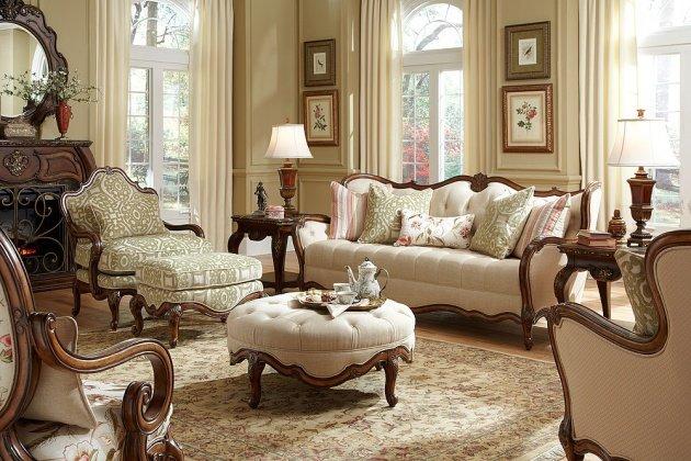 Викторианский стиль в интерьере – благородство роскоши