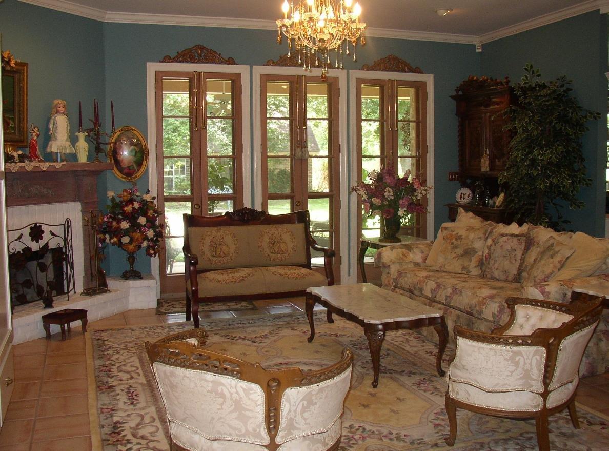 Викторианский стиль в интерьере современных домов