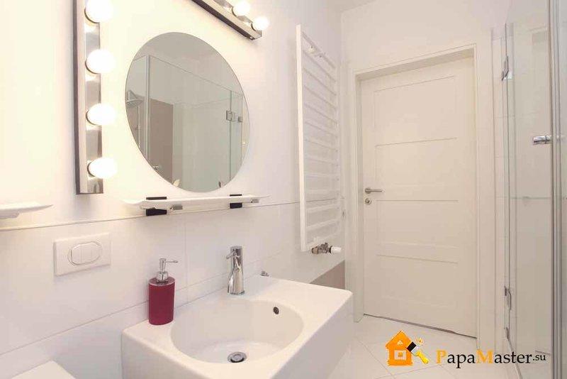 Зеркала в ванную комнату: дизайн, функциональность, фото | Папа мастер!