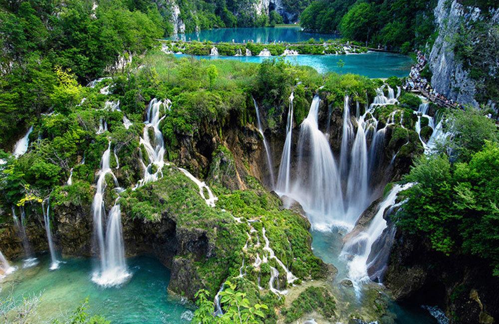Крещение января, открытки с водопадами каскадами