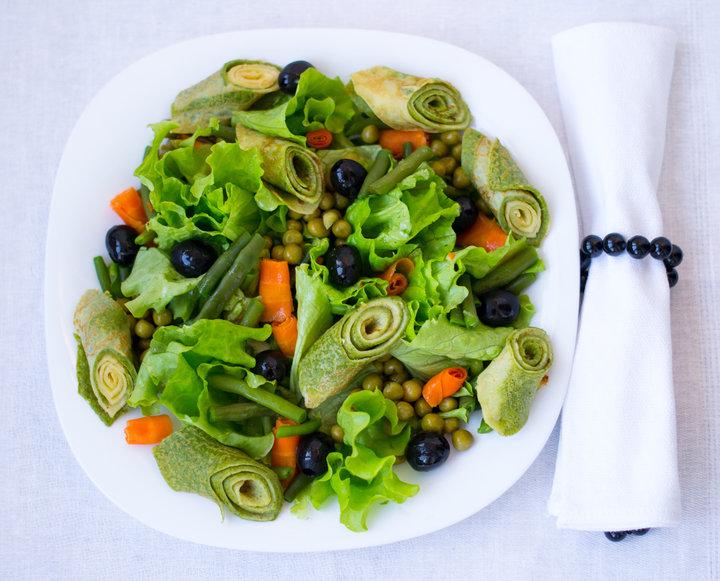 Праздничные салаты овощей рецепты фото