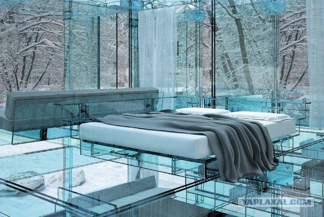 The Woodland House Архитекторы из итальянского бюро Santambrogiomilano создали два почти на 100 процентов прозрачных дома.