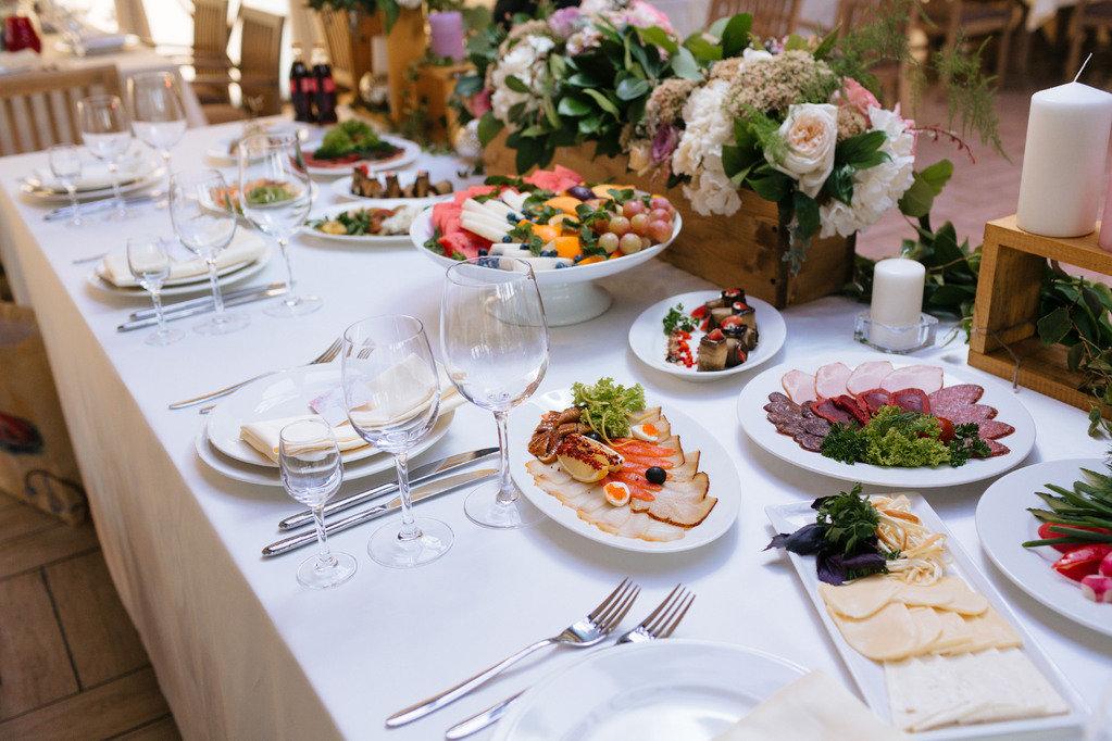 свадебный стол фото еды обязали начинающую