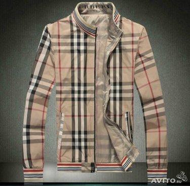 Мужская куртка бежевая в клетку Burberry» — картка користувача ... 796d74ac3c6