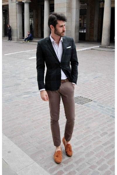 Классика с пиджаком
