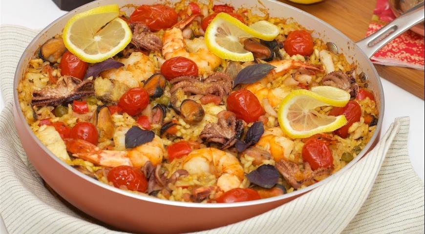 работа: рецепты паэльи с морепродуктами поэтому наиболее востребованными