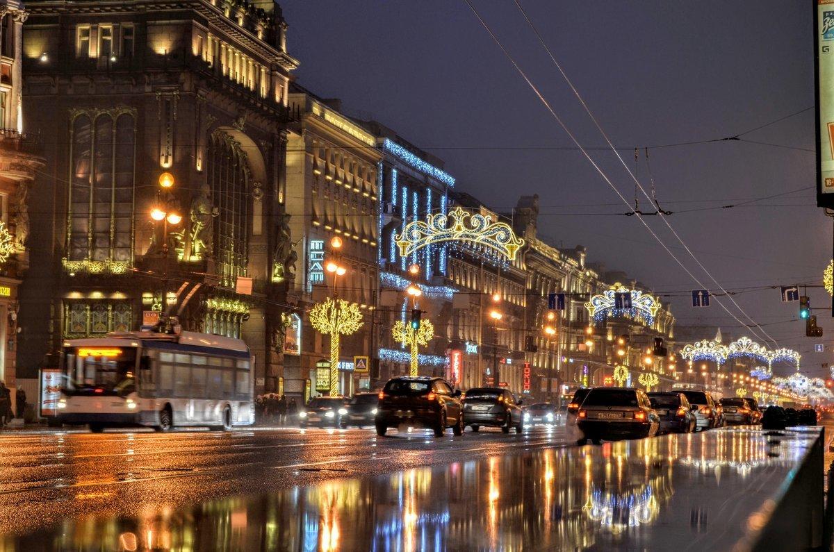 свет, проспекты санкт-петербурга картинки дорога