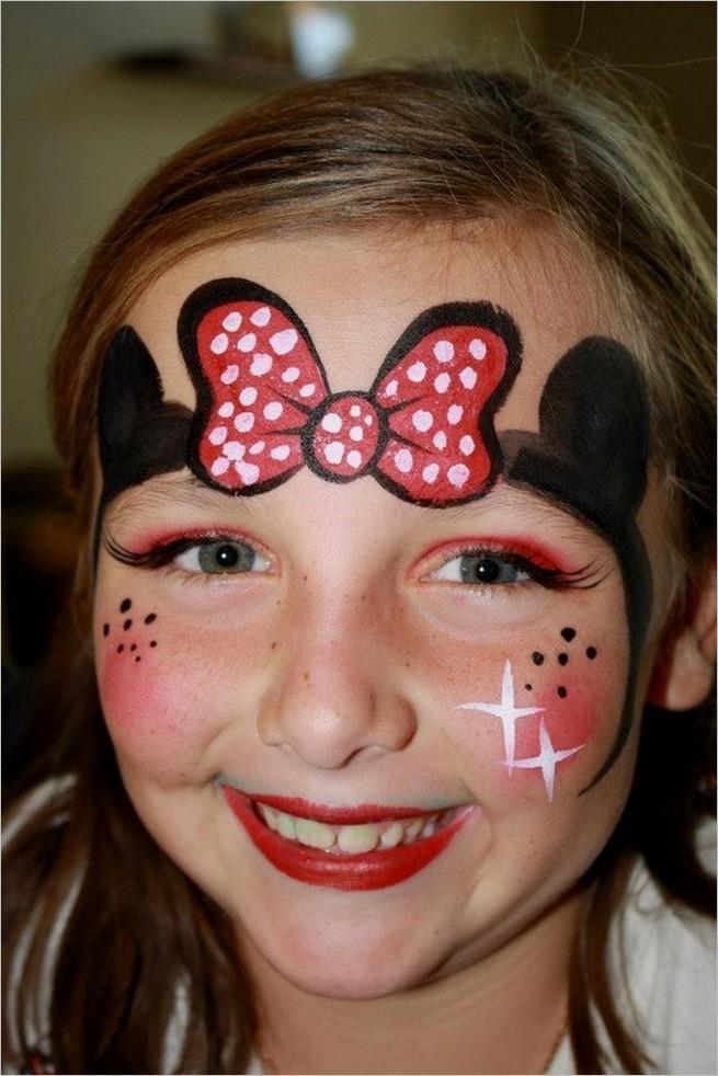 Як розмалювати лице дитині фото