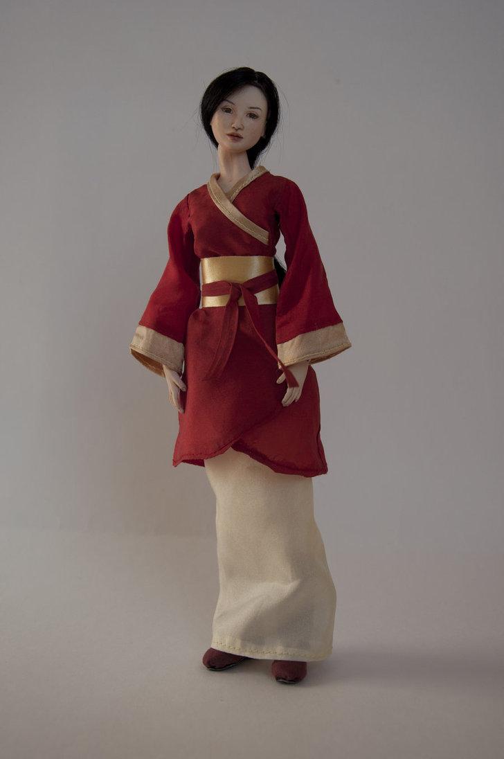 одежда кукол китаянок фото насколько мне