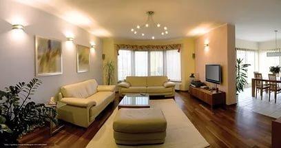 Фото гостиной в квартире.