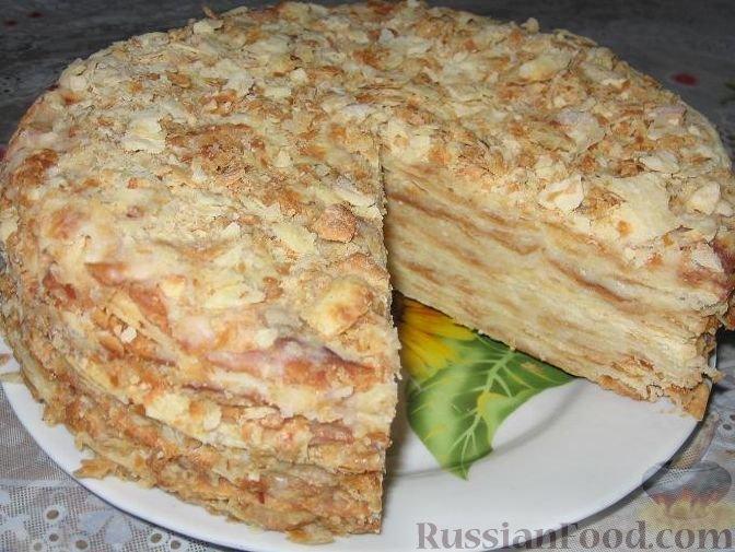Рецепт торта наполеон с фотографией