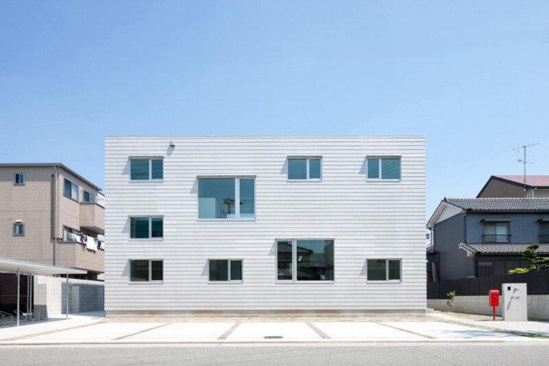 Дом «LT Josai» — совмещение частного и общественного