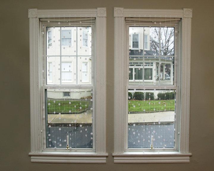 """Герлянда дождь для стильного окна"""" - карточка пользователя p."""