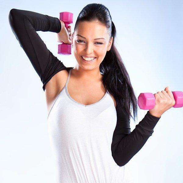 Для женщин  »  Здоровье  » Упражнения с гантелями для похудения