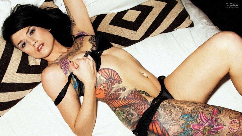 Татуированные девочки. sudouser.  0. 52 …