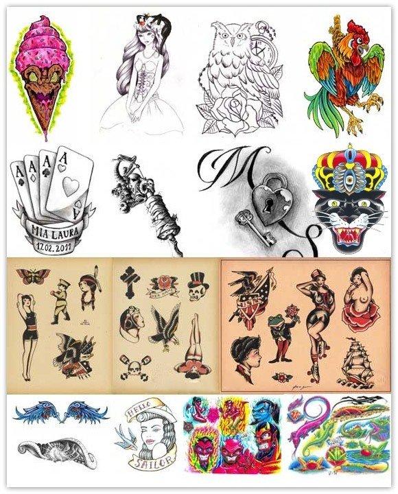 Татуировки. Коллекция максимум - Tattoos. A collection a maximum