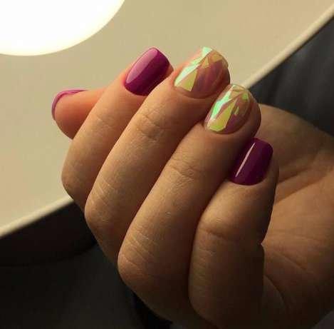 олх битое стекло для ногтей