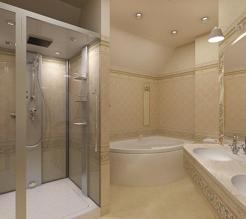 Домашний интерьер. Ванная