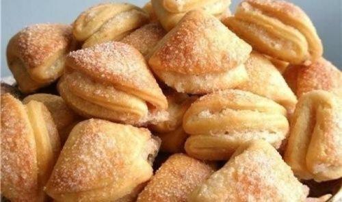 Домашнее печенье сердечки